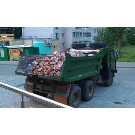 Вывоз строительного мусора до 10 т