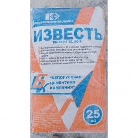 Известь гидратная CL80-S 25 кг