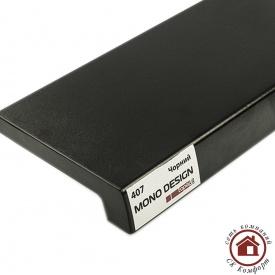 Подоконник Topalit Mono Design 300 мм Чёрный (407)