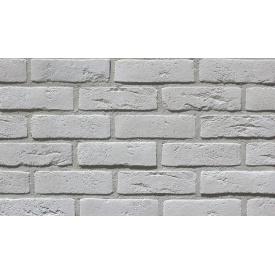 Фасадна плитка Loft Brick Бельгійський 01 Білий 240x71 мм