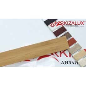 Дерев'яні жалюзі Premium bamboo 25 бурштин (000892)