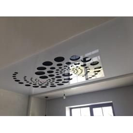 Перфорированный натяжный потолок по технологии Apply под заказ