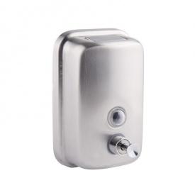 Дозатор для мила хромований 800 мл GF (CRM)/S - 405-8