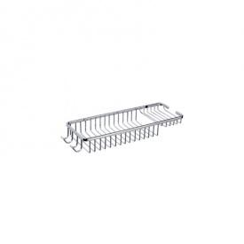 Полка для ванной решеткой 35х13 см Potato P216