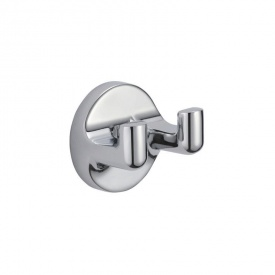 Крючки для полотенец двойной настенный GF (CRM)/S- 2705-2