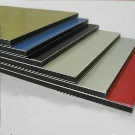 Алюмінієва композитна панель Aluprom 3 мм срібло 1250x5600 мм
