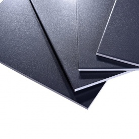 Алюмінієва композитна панель Aluprom 3 мм чорний 1250x5600 мм