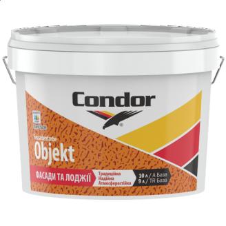 Универсальная краска для фасадов и интерьеров Condor Fassadenfarbe Objekt 10л