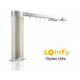 Электрокарниз тихий в сборе 2 м Somfy GLYDEA ULTRA 60e RTS / WTMIC / DCT (281546)