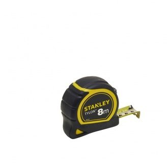 Рулетка STANLEY Tylon 8 м 25 мм ергономичн корпус пластик + еластомер