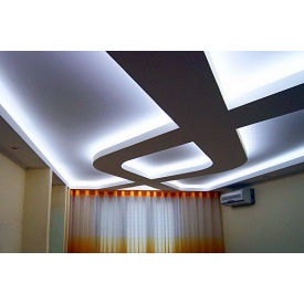 Нaтяжной потолок с подсветкой