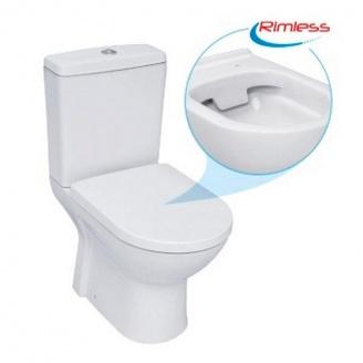 Унітаз ROUND ARC з сидінням Softclose (RA0600RC)
