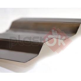 Профилированный поликарбонат бронза Suntuf 1,26x3 м