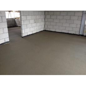 Заливка цементной стяжки в квартире