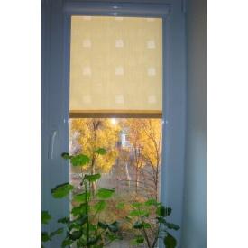 Рулонные шторы тканевые с рисунком Besta закрытого типа