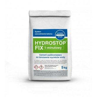 Гідроізоляційний швидков`яжучий цемент для зупинки води Hygrostop-Fix 303 5 кг