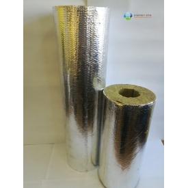 Цилиндр базальтовый фольгированный 80 кг/м3 28х30 мм