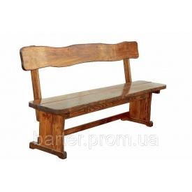 Скамейка деревянная 2000х370 мм