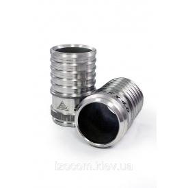Пресс-фитинг под сварку нержавеющая сталь в комплекте с гильзой 90 мм