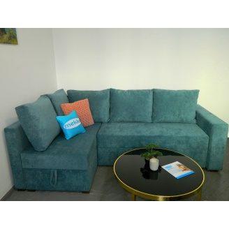 Угловой ортопедический диван Mekko Lincoln 1450х2300 мм
