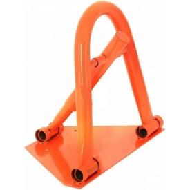 Барьер парковочный ПромТехноКом БП-1К 430х500х250 мм оранжевый