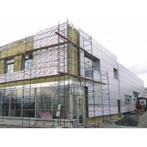 Влаштування вентильованого фасаду
