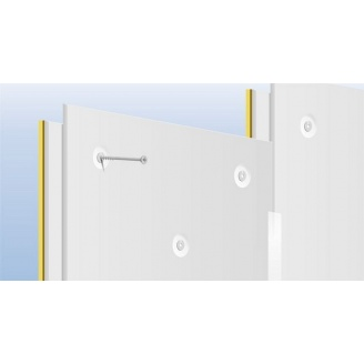 Готова панель для звукоізоляції стін і стелі TECSOUND GIPS FT 1200х1000х35,5мм