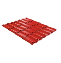 Металлочерепица ТПК Эффект 1190 мм красная