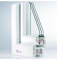 Металопластикове вікно REHAU Brilliant-Design 1300x1400 мм