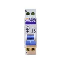 Автоматический выключатель ВА-2002 40А 1+N АскоУкрем