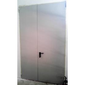 Утепленная дверь ПромТехноКом металлическая 2000х1200 мм
