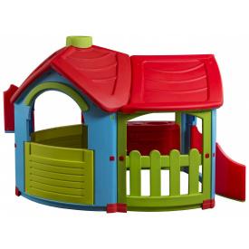 Детский игровой домик PalPlay Triangle Villa with extension