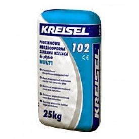 Клей для плитки морозостойкий Kreisel Multi 102 25 кг