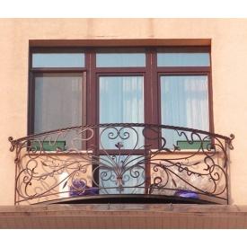 Кована огорожа для балкона