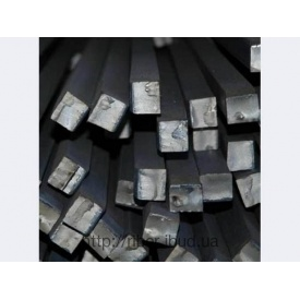 Квадрат металевий 10х10 мм