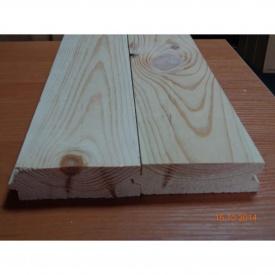 Дошка для підлоги сосна цільна з живим сучком 32х105х4000 мм 2 сорт