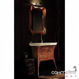 Комплект меблів для ванної кімнати Godi CT-32 червоний дуб
