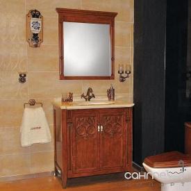 Комплект меблів для ванної кімнати Godi US-20 коричневий