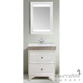 Комплект меблів для ванної кімнати Godi TG-13 канадський дуб, білий