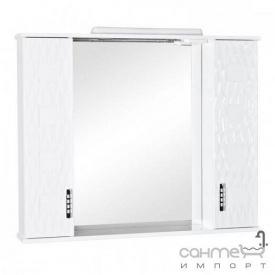 Зеркальный шкафчик с подсветкой Аква Родос Ассоль 100