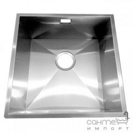 Кухонная мойка Fabiano Quadro 38х44 нержавеющая сталь