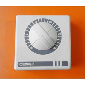 Терморегулятор CEWAL RQ-01 для інфрачервоних панелей і обігрівачів 76х76х34 мм