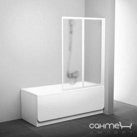 Шторка для ванны Ravak VS2-105 белый/grape (стекло) 796M0100ZG