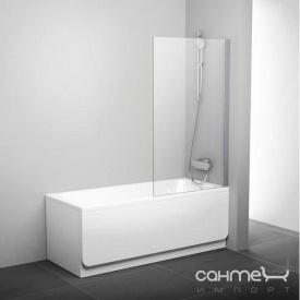 Шторки для ванны Ravak PVS1-80 белый/прозрачное 79840100Z1