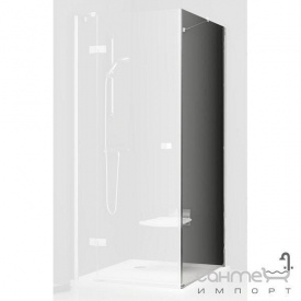 Нерухома стінка для душа Ravak SmartLine SMPS-90 L хром/прозорий 9SL70A00Z1 ліва