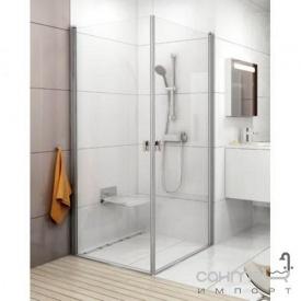 Душевая дверь Ravak Chrome CRV1 90 профиль алюминий, прозрачное стекло 1QV70C01Z1
