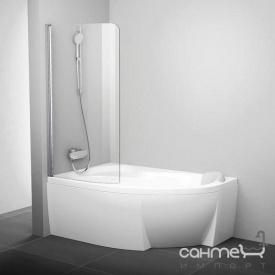 Шторка для ванны Ravak CVSK1 160/170 L белый/прозрачное 7QLS0100Y1 левая