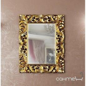 Декоративне дзеркало для ванної кімнати Marsan Penelope 112 870х1120 чорний глянець