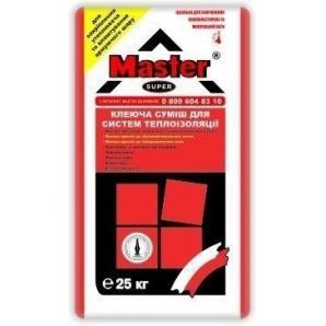 Клей для пінополістиролу Master Super 25 кг