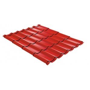 Металочерепиця ТПК Ефект 1190 мм червона